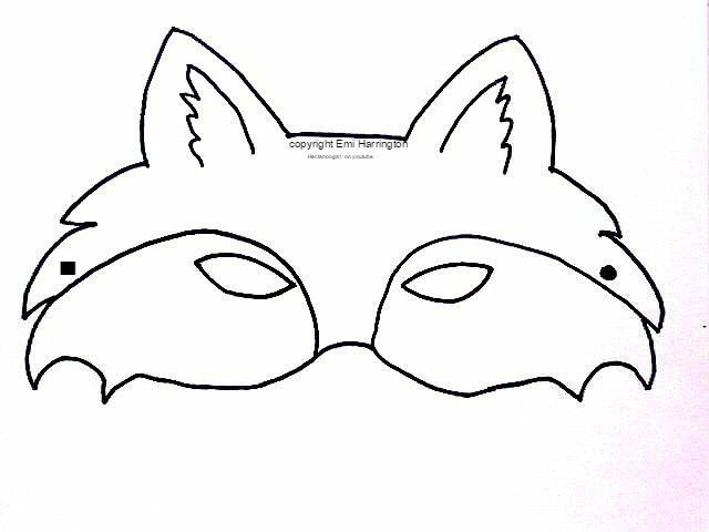 13 Best Images of Fox Face Printable - free printable fox masks ...