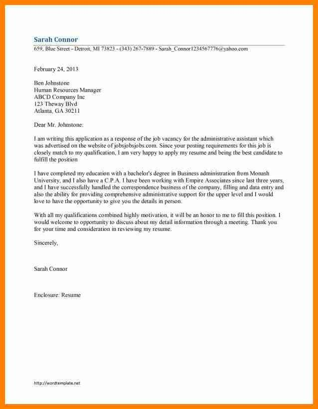 6+ free sample cover letters for job applications | assembly resume