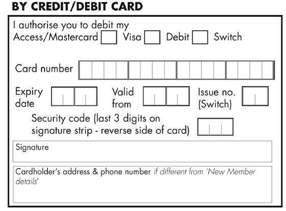 Membership Application/Renewal Form for Printing | BTO - British ...