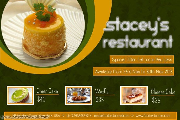 New flyer templates for your restaurant! | Design Studio