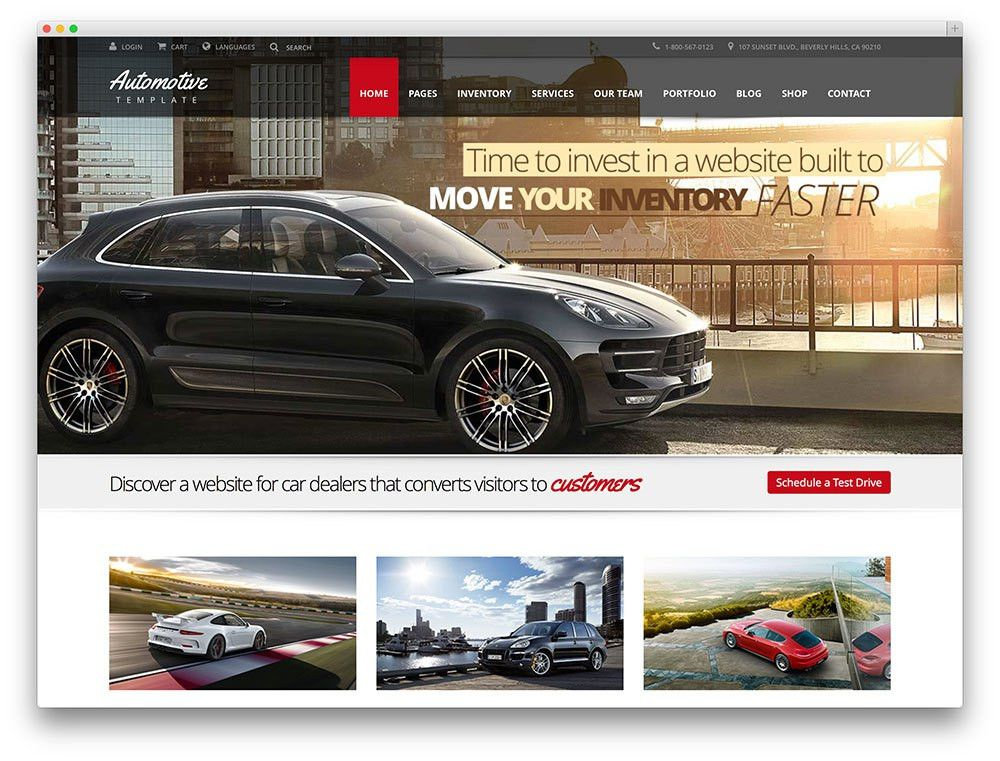 Best Car Dealer WordPress Themes For Automotive Websites 2017 ...