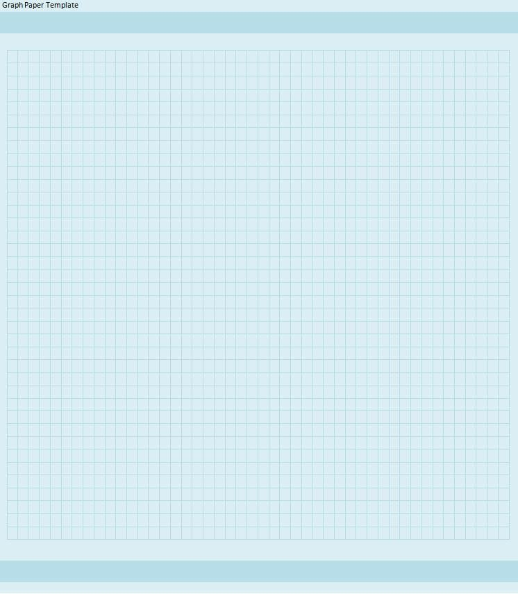 Graph Paper Template | Free Word Templates