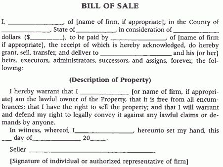 The function of the Uniform Commercial Code when buying property ...