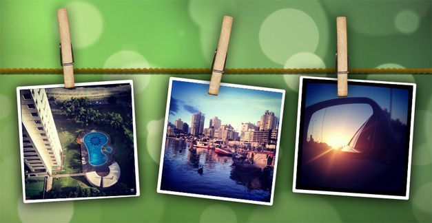 Photo Album Powerpoint Template - Casseh.info