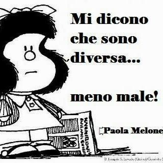 1000 images about mafalda on pinterest photo editor - Frasi sull essere diversi ...