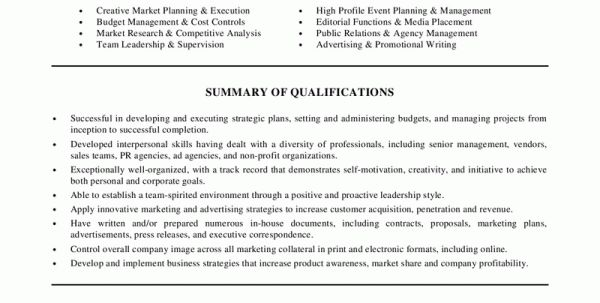 event. sample resume for marketing and product management sample ...