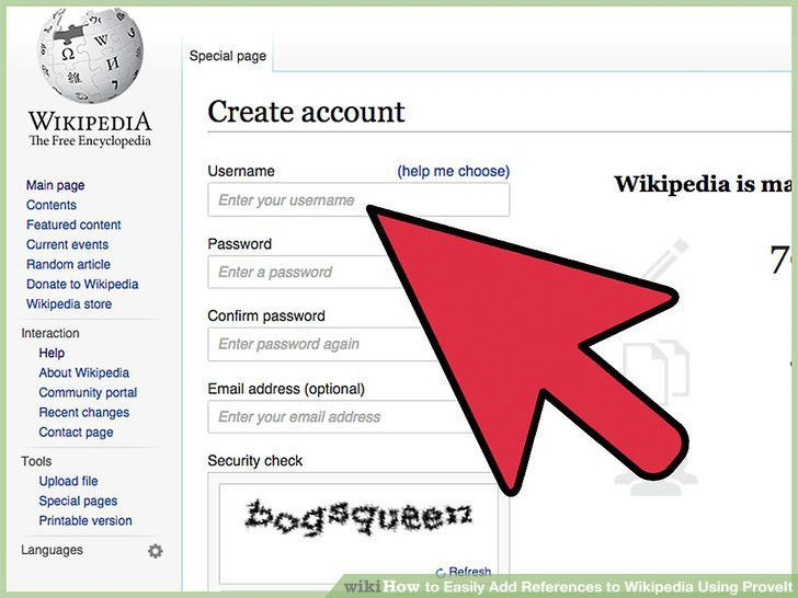 How to Easily Add References to Wikipedia Using ProveIt