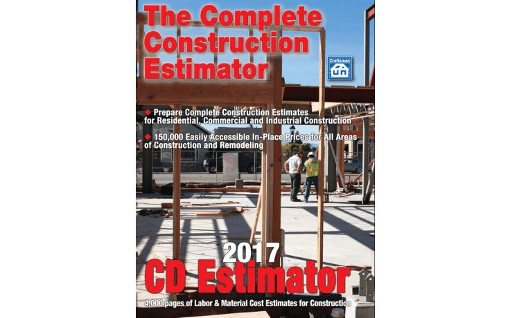 2017 CD Estimator CD ROM w/Free Tech Support & Free Updates During ...