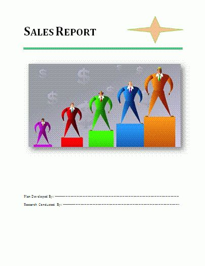 Sales Report Template | Download It Free