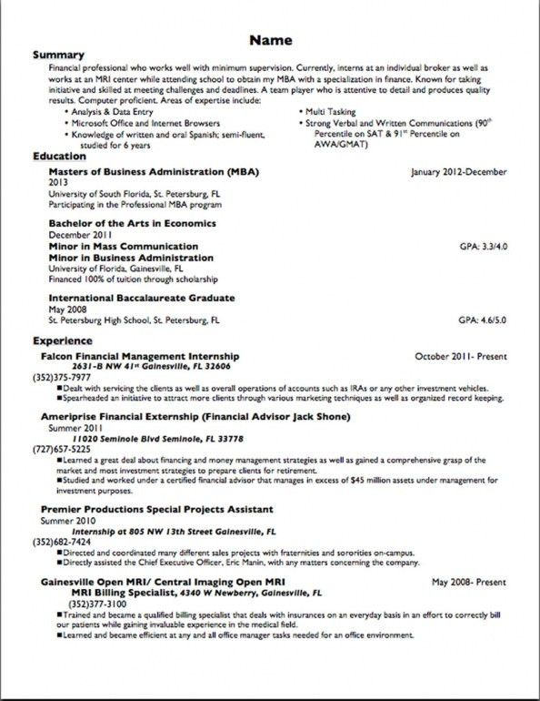 1st job resume doc tk examples my first go back pix for student ...