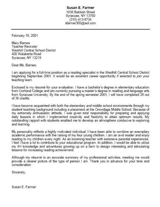 resume letter sample resume cv cover letter template for a cover ...