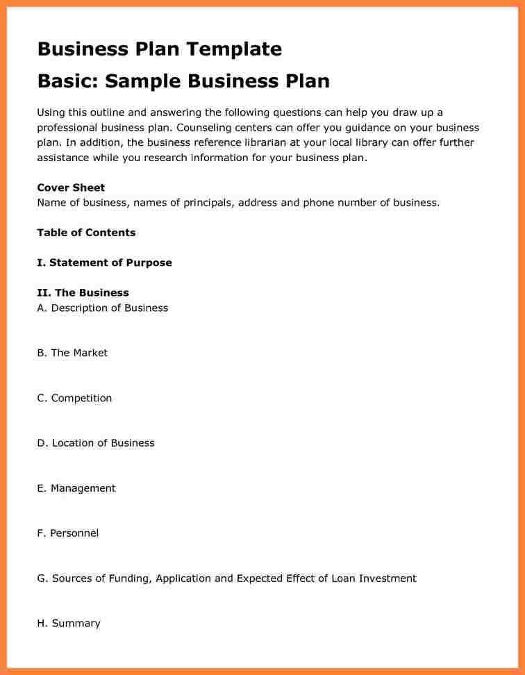 4+ Formal Business Plan Sample | Bussines Proposal 2017