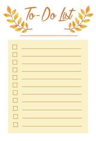 Free Printable To-Do List – Marilyn Nassar