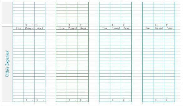 Budget Template – 41+ Free Word, Excel, PDF Format Download ...