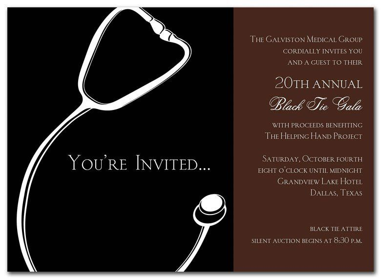 Medical Gala - Graduation Announcements by Invitation Consultants ...