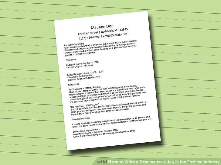 write up a resume how to write up a resume