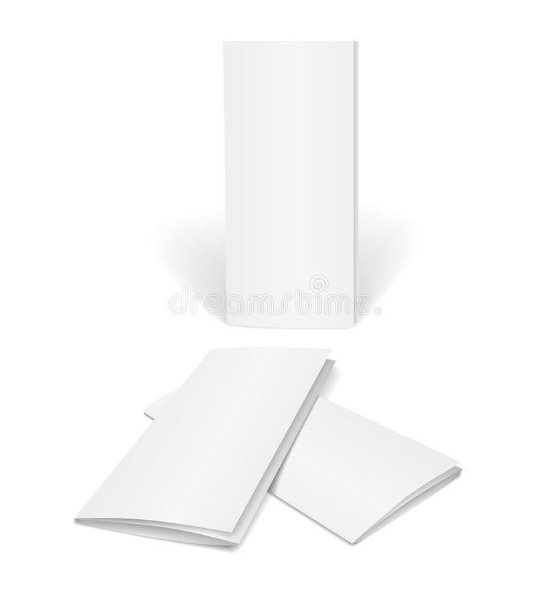 Blank Vector Brochure Template Stock Vector - Image: 39323840