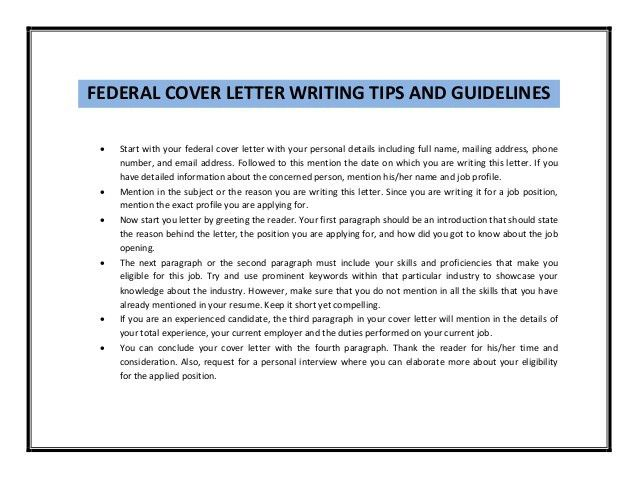 Shining Ideas Federal Cover Letter 13 Usajobs Gov Resume Sample ...