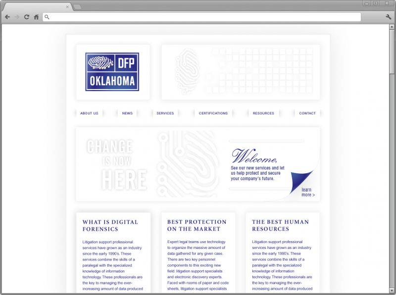 Digital Forensics Professionals Website