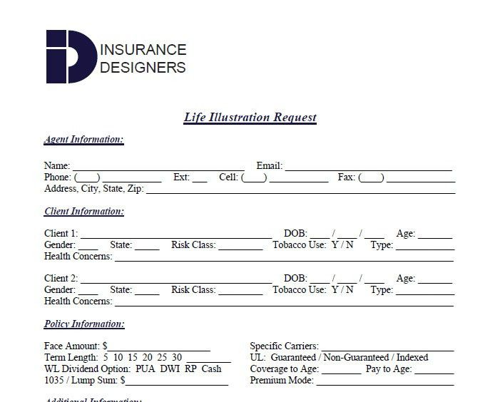 Insurance Quote Forms - 44billionlater