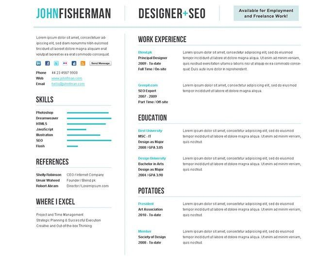 Resume Templates Online. Resume Templates Designs Free ...