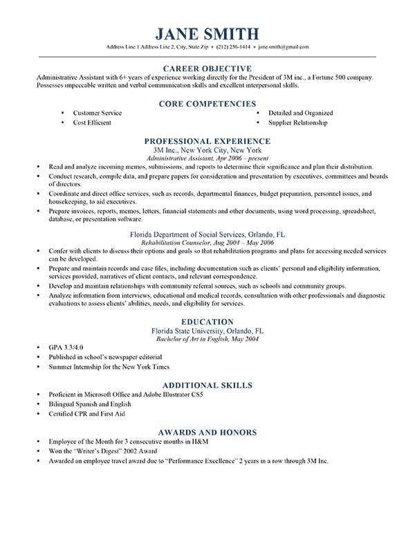 Advanced Resume Templates | Resume Genius