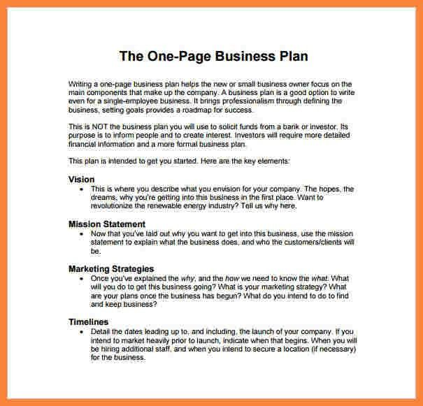 11+ example of business plan template | Bussines Proposal 2017