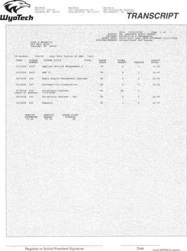 Download Wyotech Optimal Resume | haadyaooverbayresort.com