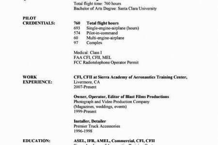 modern resume resume examples airline pilot professional pilot ...