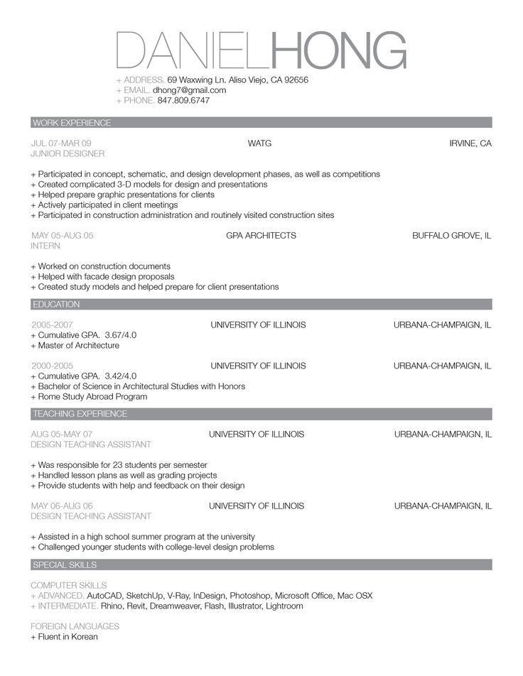 55 best Resume Styles images on Pinterest | Resume styles, Resume ...