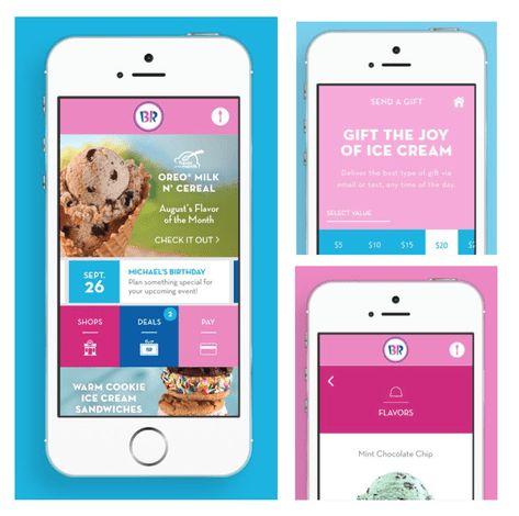 HOT* Download New Baskin-Robbins App = FREE Regular 4 oz. Scoop ...
