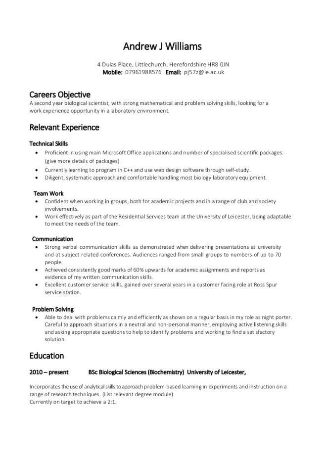 8 Verbal And Written Communication Skills Resume Resume excellent ...