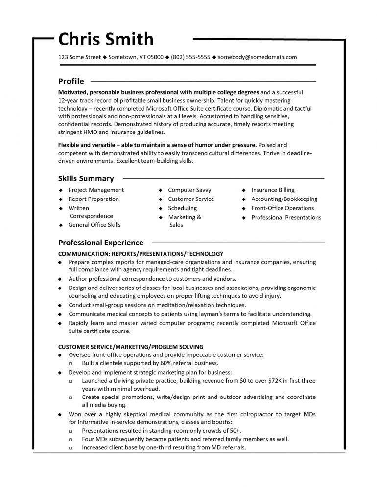 Functional Format Resume Sample Resume - Schoodie.com
