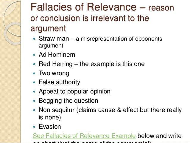 Inductive, Deductive, and Fallacies