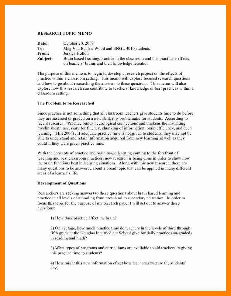 9+ apa memo format template | resumes great