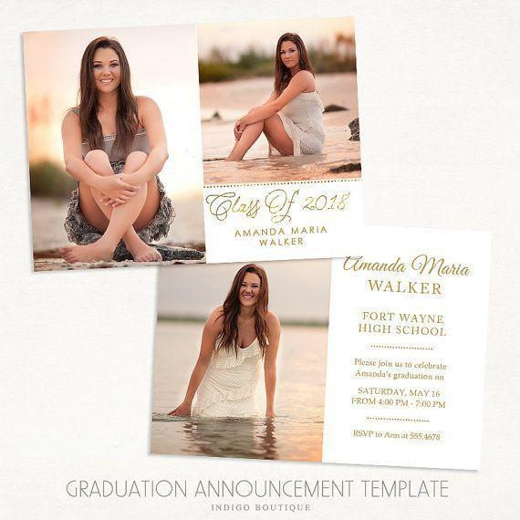 320 best Senior Graduation Announcements images on Pinterest ...