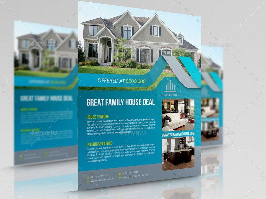 Real Estate Flyer Vol.13 by OWPictures | GraphicRiver