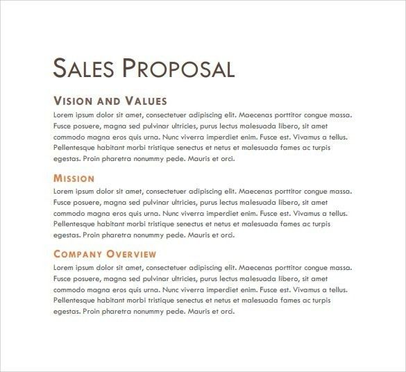 Sales Pitch Template | Template Idea