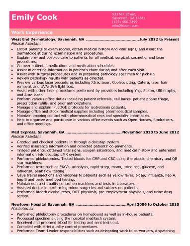 medical assistant sample resume. choose. medical assistant resume ...