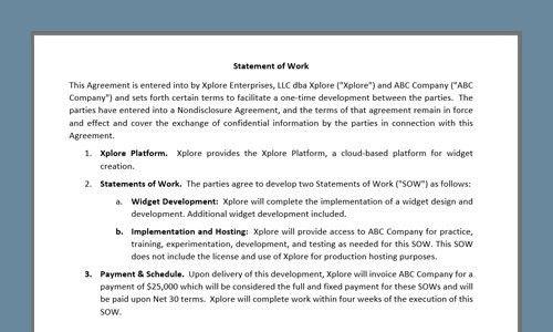 Examples | WebMerge