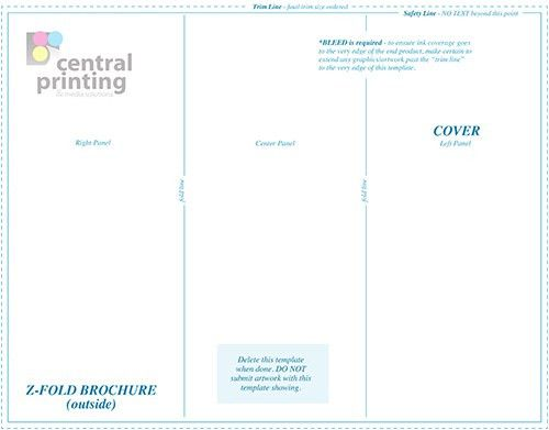 Brochure Templates | Central Printing