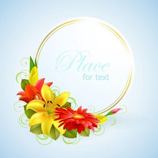 Blank greeting card border designs free vector download (18,923 ...