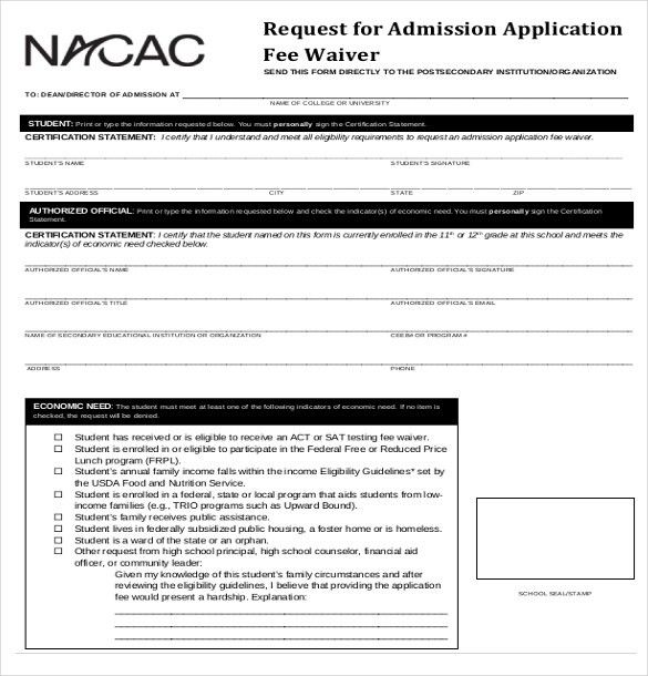 15+ College Application Templates – Free Sample, Example, Format ...