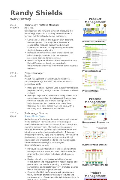 Portfolio Manager Resume samples - VisualCV resume samples database