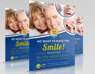 Dental Clinic Flyer Template on Behance