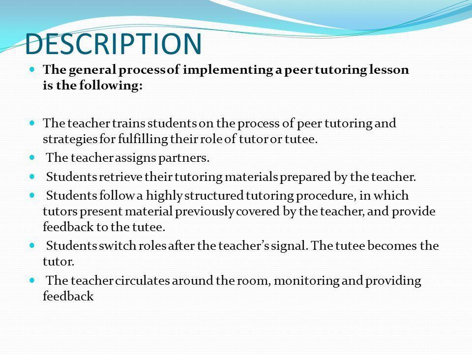Math Teaching Strategy Peer Tutoring - ppt video online download