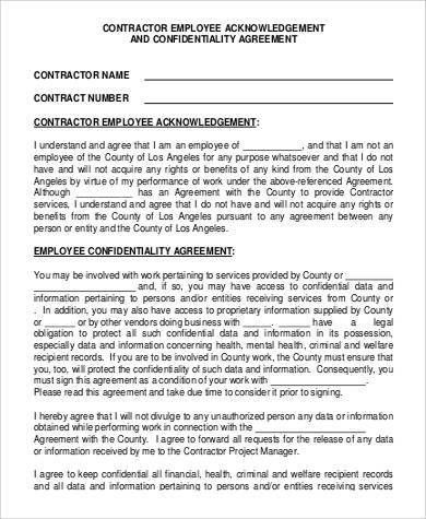 Confidentiality Clause Contract - cv01.billybullock.us