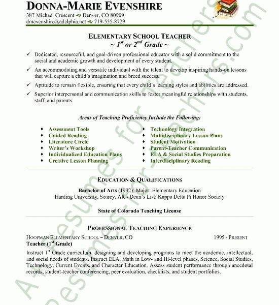 Classy Design Resumes For Teachers 9 Teacher Resume Sample ...