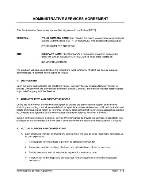 Travel Services Agreement - Template & Sample Form | Biztree.com