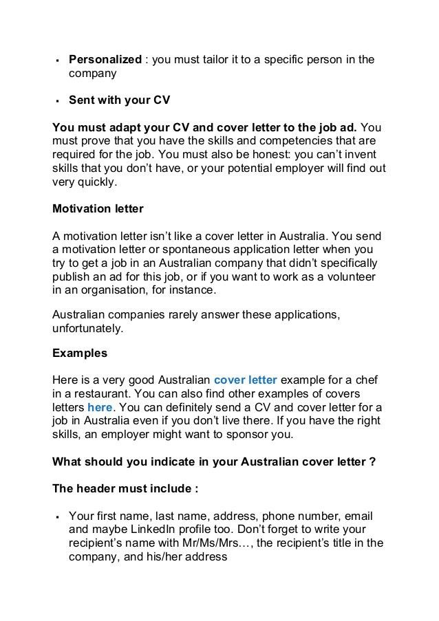 cover letter example. best solutions of spontaneous application ...